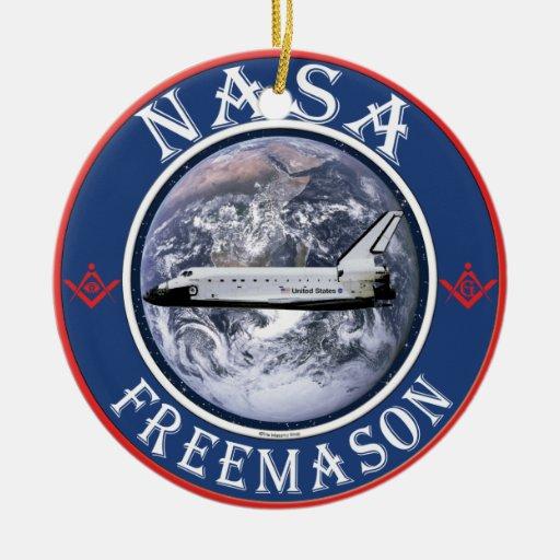 NASA ORNAMENTS PARA ARBOL DE NAVIDAD