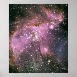 NASA - Pequeña nube de Magellanic Póster