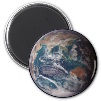 NASA Planet Earth Indian Ocean View 2 Inch Round Magnet