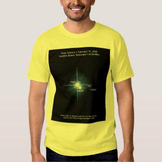NASA / Pluto / Charon / Nix / Hydra Tshirts