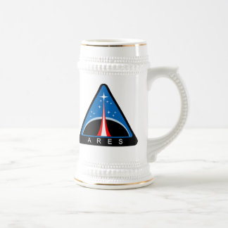 NASA Project Ares Logo Beer Stein
