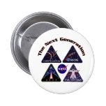 NASA Project Logos Pins