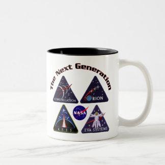 NASA Project Logos Two-Tone Coffee Mug