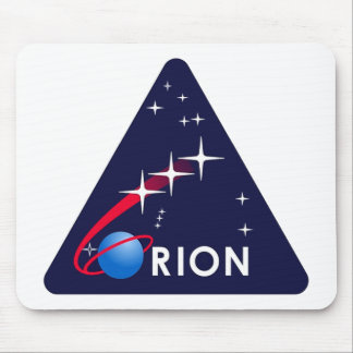 NASA Project Orion Logo   Mouse Pad