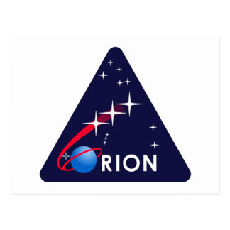 NASA Project Orion Logo   Postcard
