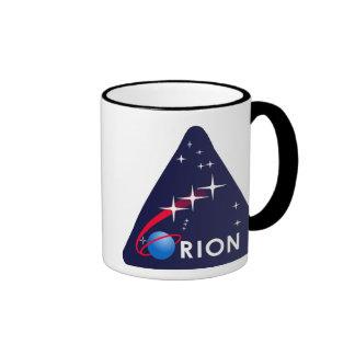 NASA Project Orion Logo Ringer Mug