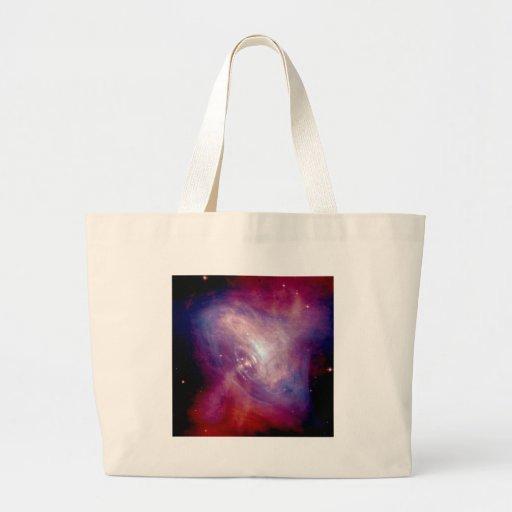 NASA - Radiografía y imágenes ópticas de la nebulo Bolsa Tela Grande