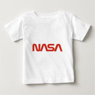 NASA Red Snake Logo LIGHT Baby T-Shirt