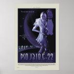 NASA Retro ExoPlanet PSO J318.5-22 Travel Poster