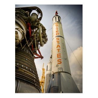 NASA Rocket Park Postcard