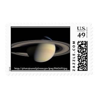 Nasa - Saturn - Best 1 Stamp