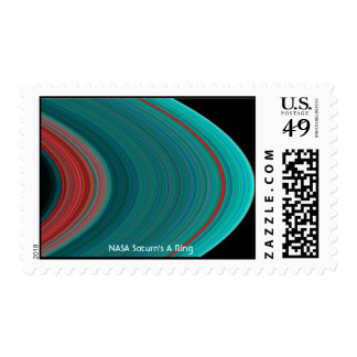 NASA Saturn's A Ring Postage