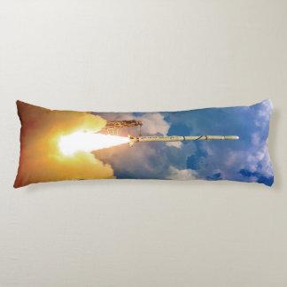 NASA Scout Rocket Launch Liftoff Body Pillow