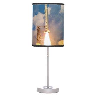 NASA Scout Rocket Launch Liftoff Desk Lamp
