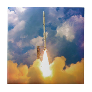 NASA Scout Rocket Launch Liftoff Tile