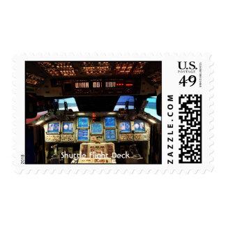 NASA Shuttle Flight Deck, Shuttle Flight Deck Postage Stamps