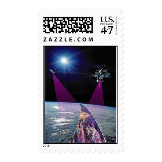 NASA Shuttle Mapping Mission Postage