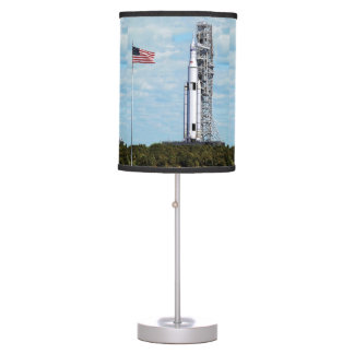 NASA SLS Space Launch System Rocket Launchpad Desk Lamp