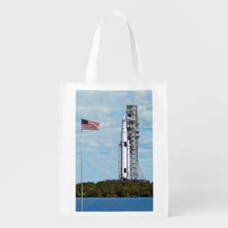 NASA SLS Space Launch System Rocket Launchpad Grocery Bag