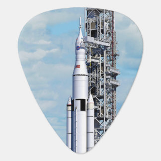 NASA SLS Space Launch System Rocket Launchpad Guitar Pick