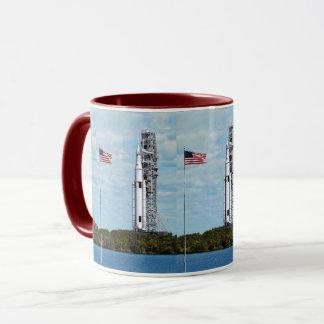 NASA SLS Space Launch System Rocket Launchpad Mug