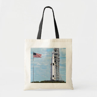 NASA SLS Space Launch System Rocket Launchpad Tote Bag
