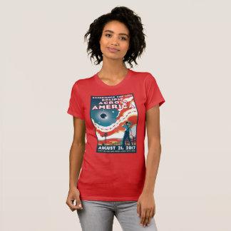 NASA Solar Eclipse America Tshirt