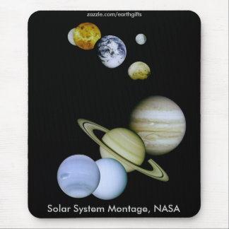 NASA SOLAR SYSTEM Mousepad