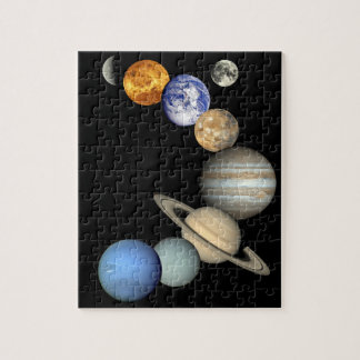 NASA Solar System Space Puzzle Gift