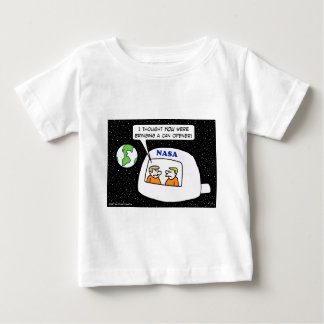 nasa space astronauts can opener baby T-Shirt