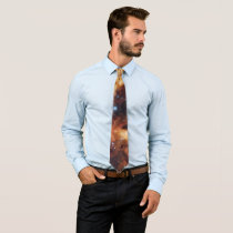 NASA Space Galaxy Luminous Nebula Neck Tie