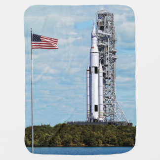 NASA Space Launch System Stroller Blanket