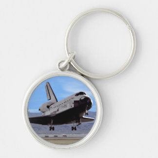 NASA Space Shuttle Atlantis Landing Edwards AFB Keychain