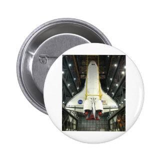 NASA SPACE SHUTTLE ATLANTIS PROGRAM COMMEMORATIVE BUTTONS