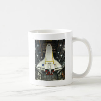 NASA SPACE SHUTTLE ATLANTIS PROGRAM COMMEMORATIVE COFFEE MUG