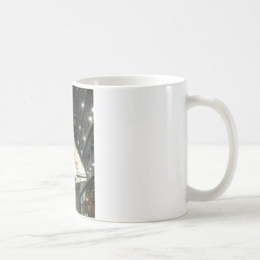 NASA SPACE SHUTTLE ATLANTIS PROGRAM COMMEMORATIVE COFFEE MUGS