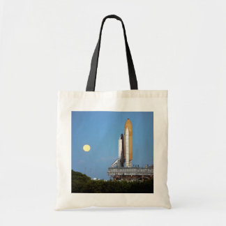 NASA Space Shuttle Atlantis STS-86 Launch Rollout Tote Bag