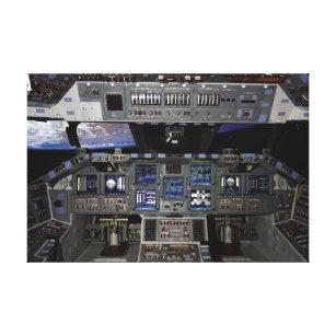 space shuttle cockpit poster - photo #20