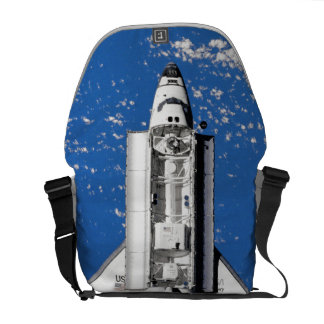 NASA Space Shuttle Discovery Earth Orbit Courier Bag