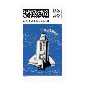 NASA Space Shuttle Discovery Earth Orbit Postage