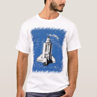 NASA Space Shuttle Discovery Earth Orbit T-Shirt