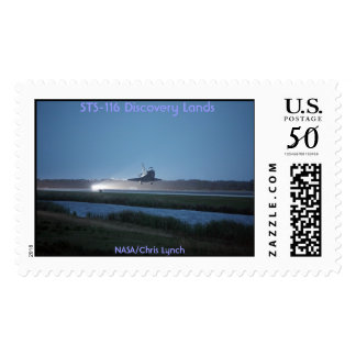 NASA / Space Shuttle Discovery landing - STS 116 Postage