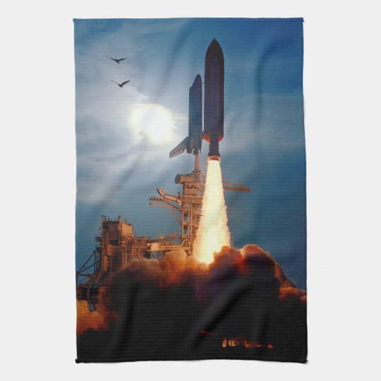 NASA Space Shuttle Discovery Launch STS-64 Hand Towel