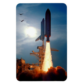 NASA Space Shuttle Discovery Launch STS-64 Magnet