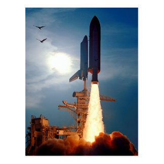 NASA Space Shuttle Discovery Launch STS-64 Postcard