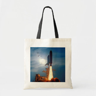 NASA Space Shuttle Discovery Launch STS-64 Tote Bag