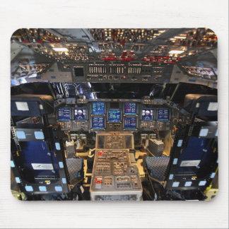 NASA Space Shuttle Endeavour Flight Deck Cockpit Mouse Pad