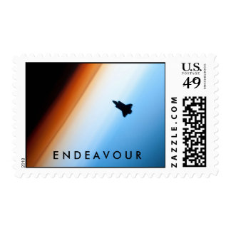 NASA Space Shuttle Endeavour Stamps