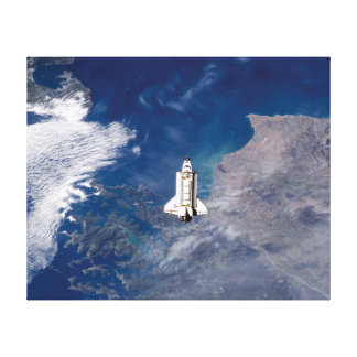 NASA Space Shuttle Endeavour STS-113 Earth Orbit Canvas Print