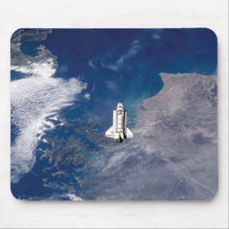 NASA Space Shuttle Endeavour STS-113 Earth Orbit Mouse Pad